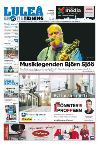 Luleå Gratistidning vecka 46 63eed18b385fc