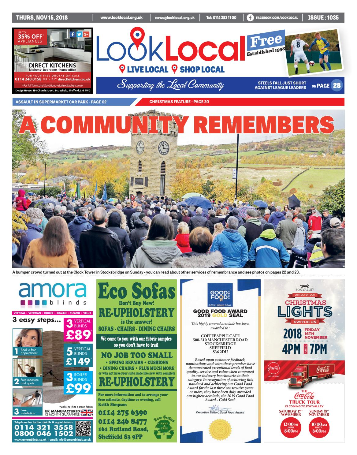 3ff791c563 Issue 1035 Thursday 15 November 2018 by Look Local Newspaper - issuu