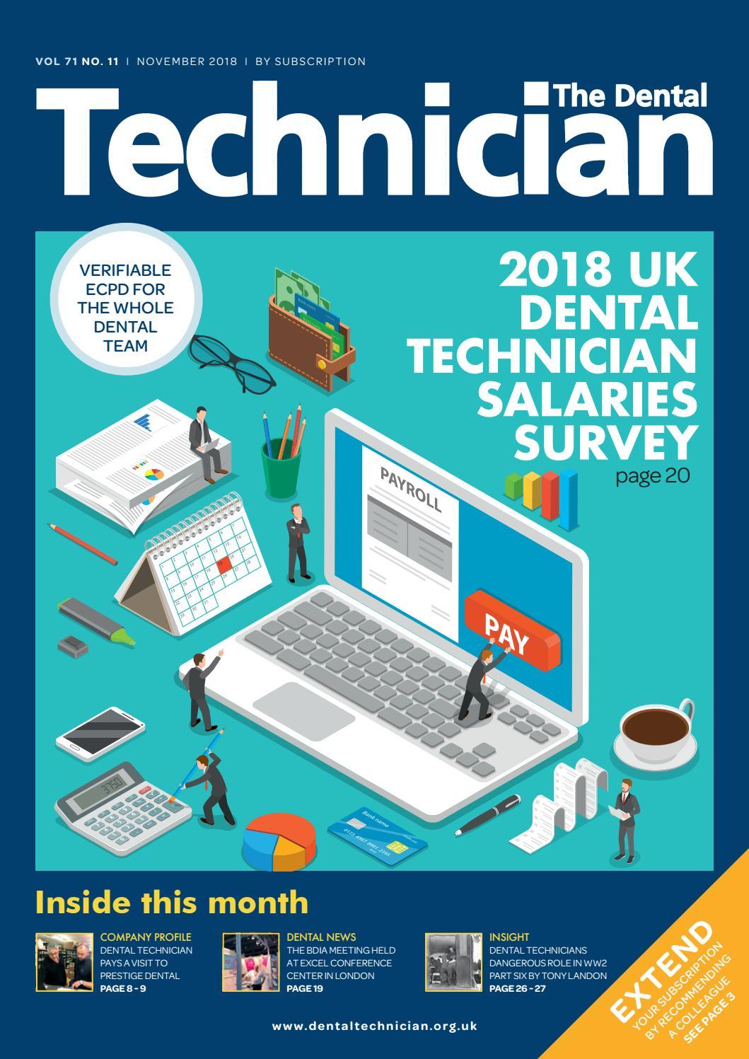 The Dental Technician Magazine November 2018 by The Dental
