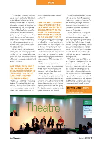 Page 15 of Scaffolding Association Interview
