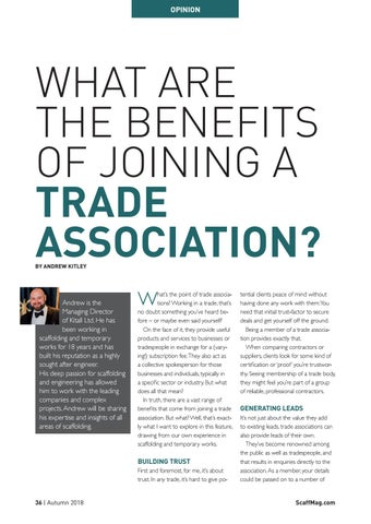 Page 36 of What Are The Benefits Of Joining A Trade Association?