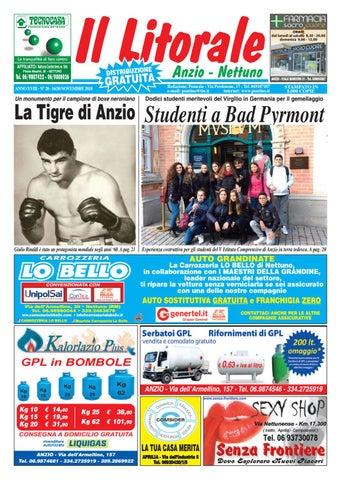 52f03976fc IL LITORALE - Anno XVIII - N. 20 - 16/30 Novembre 2018 by Il Pontino ...
