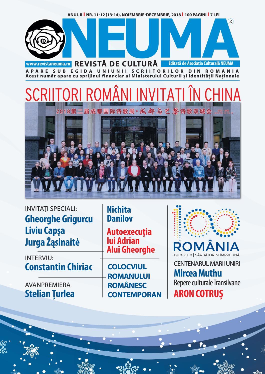 Revista Neuma Nr 11 12 2018 By Revista Neuma Issuu