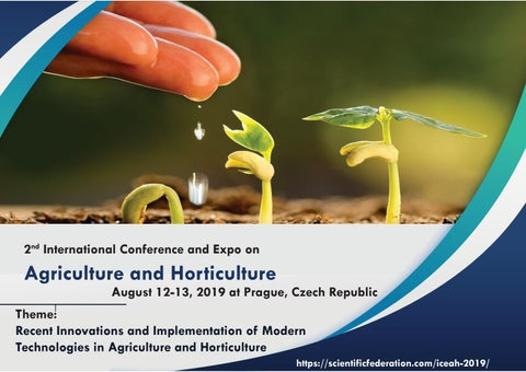 International Conference on Agriculture and Horticulture by