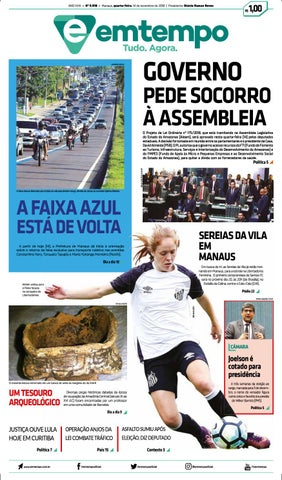 6615699be Em Tempo - 14 de Novembro de 2018 by Amazonas Em Tempo - issuu