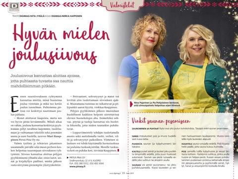 Page 19 of Hyvän mielen joulusiivous