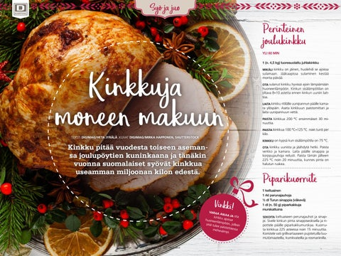 Page 50 of Kinkkuja moneen makuun
