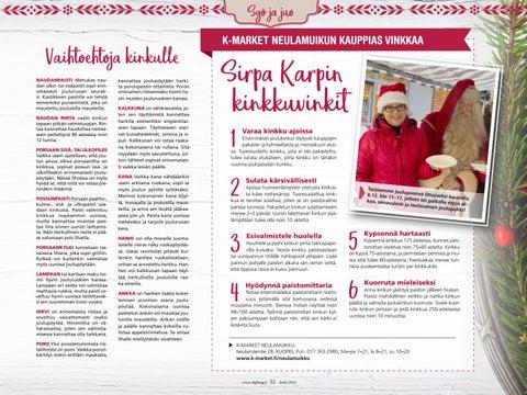 Page 51 of Kinkkuja moneen makuun