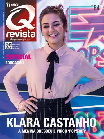 Klara Castanho by Q Revista - issuu