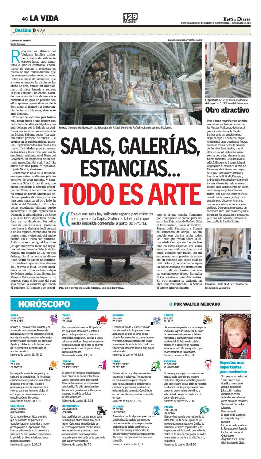 Ld 14 11 2018 By Listín Diario Issuu
