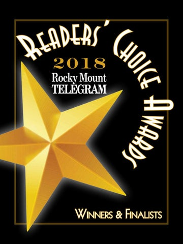 Reader S Choice Awards 2018 Rocky Mount Telegram By Apg Enc Issuu