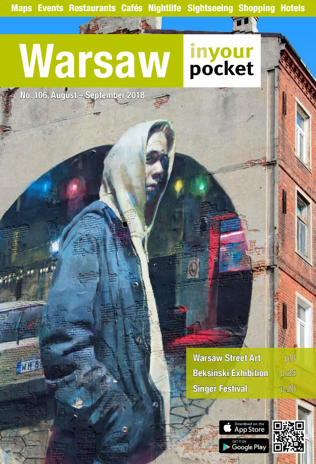 Warsaw In Your Pocket August September 2018 by Poland In