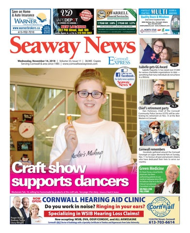 dcffa17ac7f Cornwall Seaway News November 14