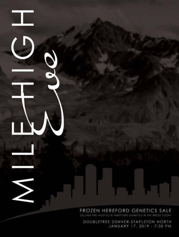 Mile High Eve by American Hereford Association and Hereford