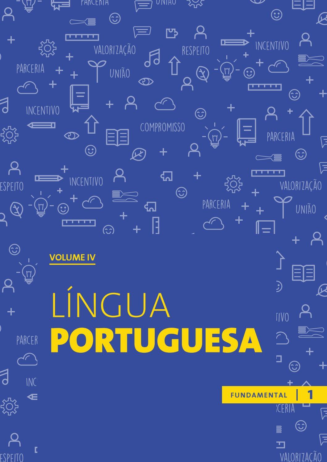 Língua Portuguesa - Fundamental 1 - v  4 by Associação Imagem