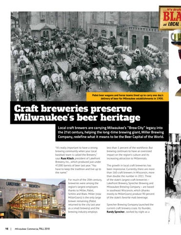 Page 16 of Craft breweries preserve Milwaukee's beer heritage