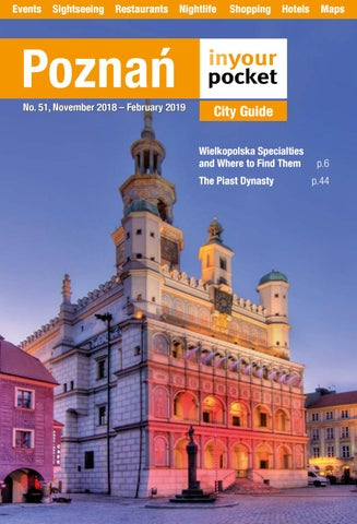 4ff6519ffc7 Poznan In Your Pocket November 2018 - February 2019 by Poland In ...