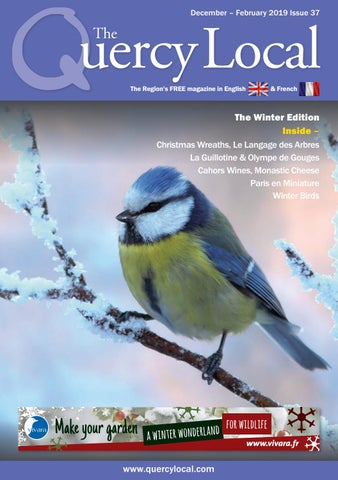 The Quercy Local Issue 37 December 2018 - February 2019 by The