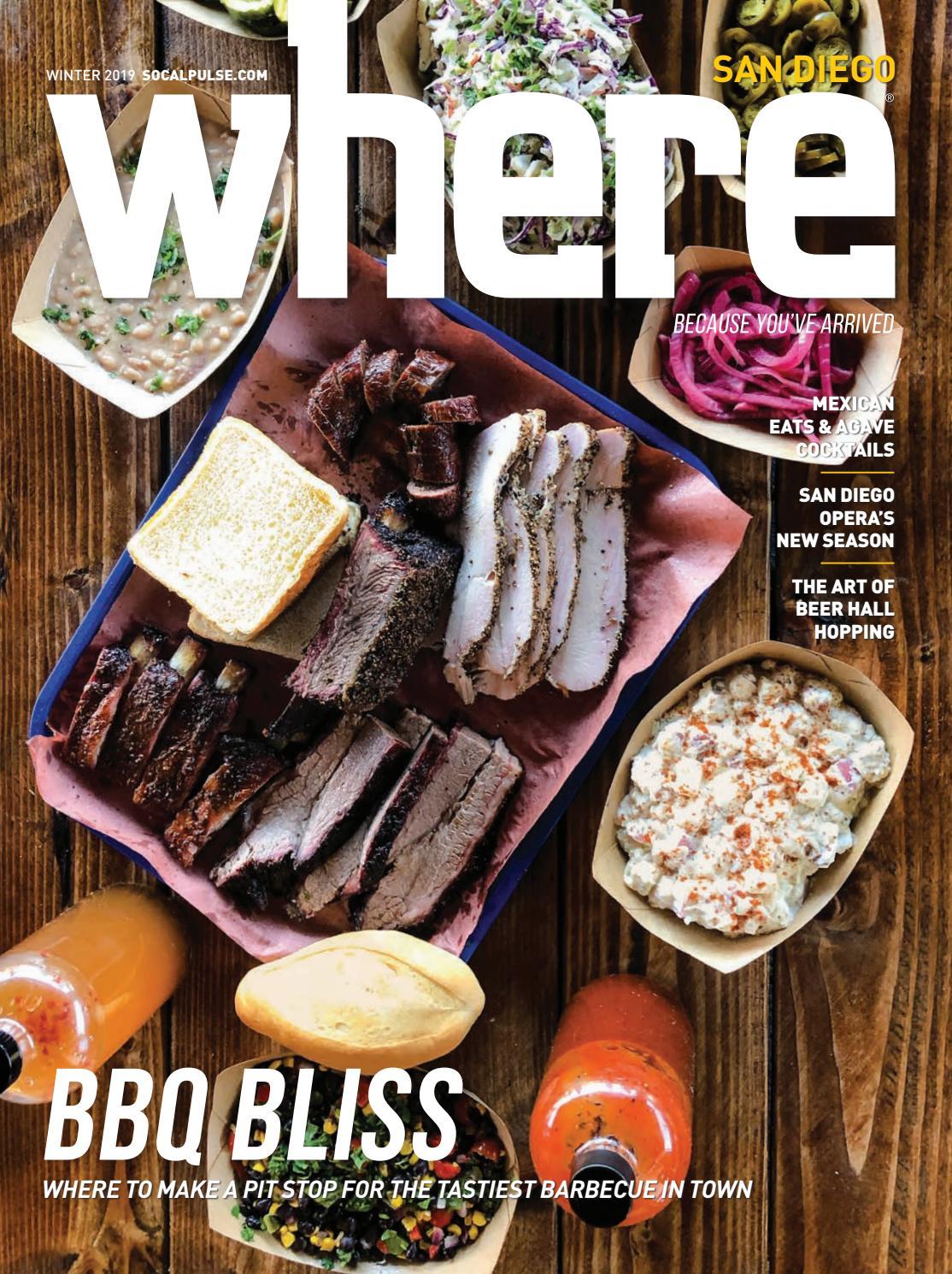 Where Magazine San Diego Winter 2019 by SoCalMedia - issuu