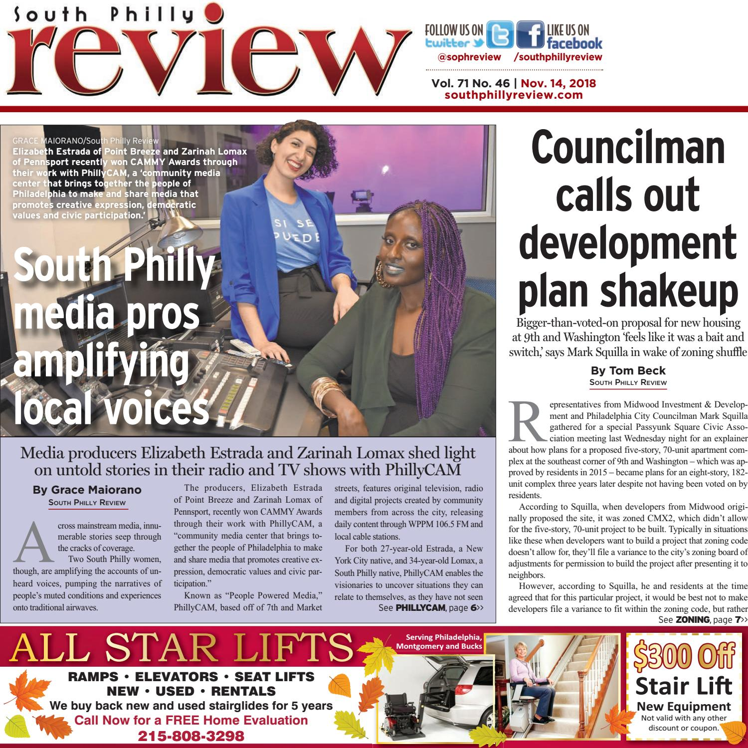 South Philly Review 11 14 18 by South Philly Review issuu