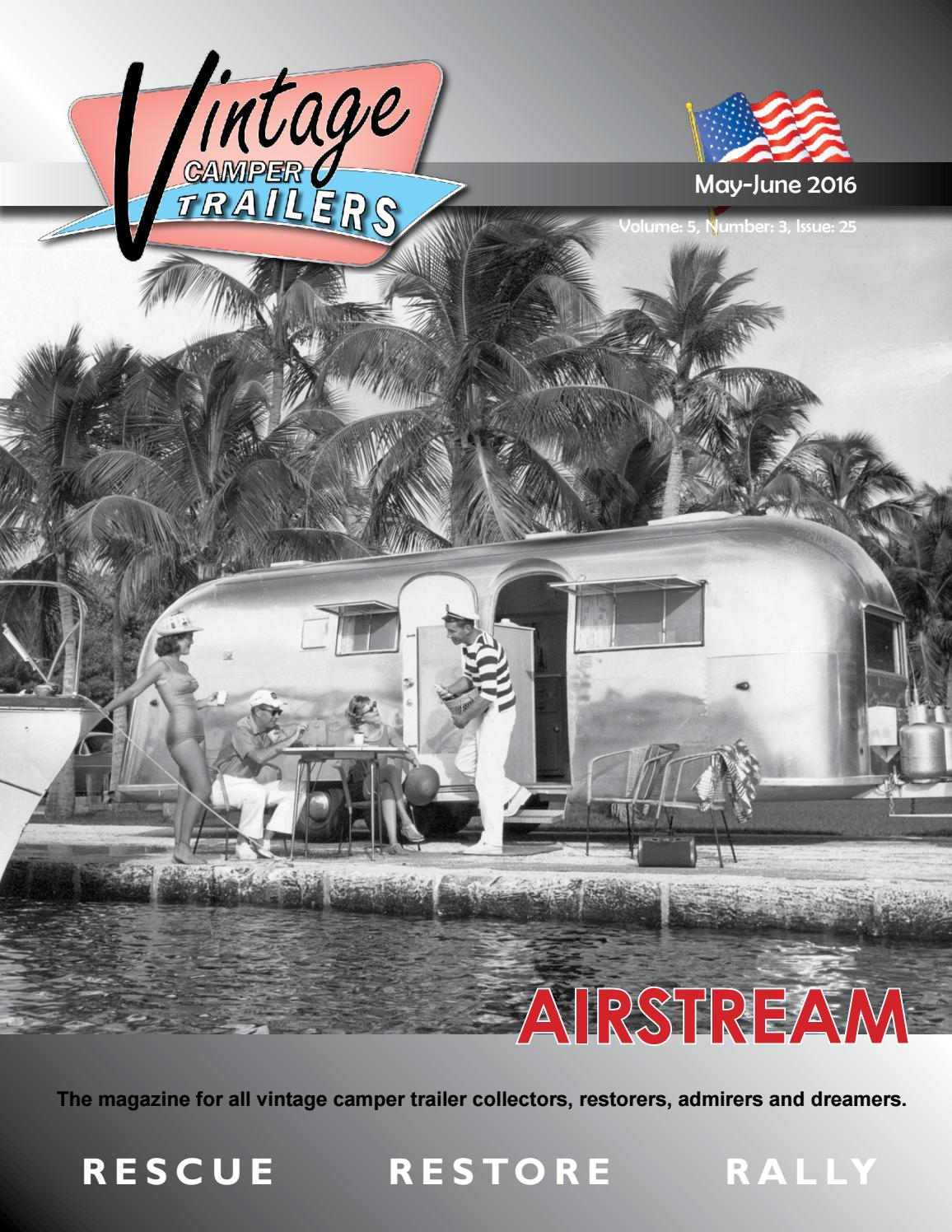 Boat Vintage Print Ad 1966 Airstream