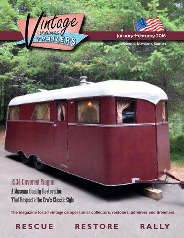 The Vintage Camper Trailers Magazine #23 by Vintage Camper