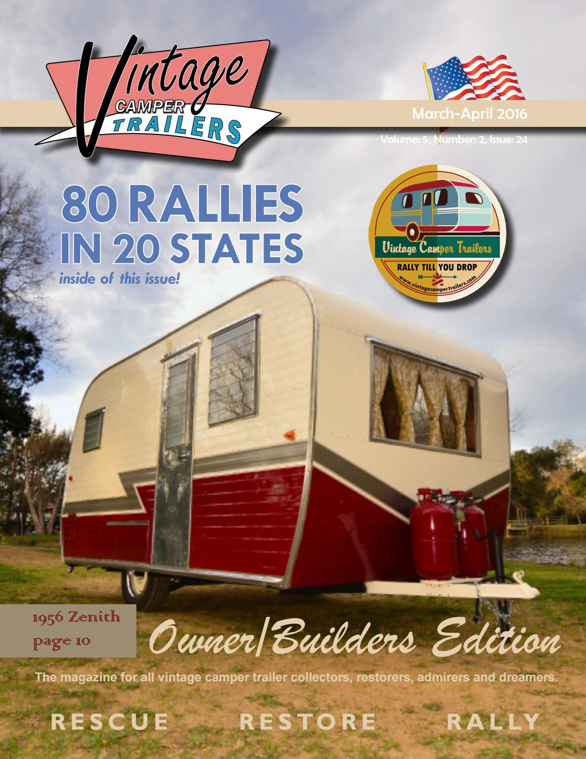 The Vintage Camper Trailers Magazine #24 by Vintage Camper Trailers - issuu