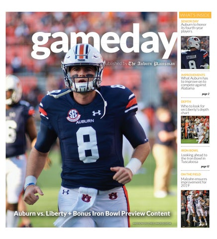eed583e9c Gameday Special Issue 11.15.18 by The Auburn Plainsman - issuu