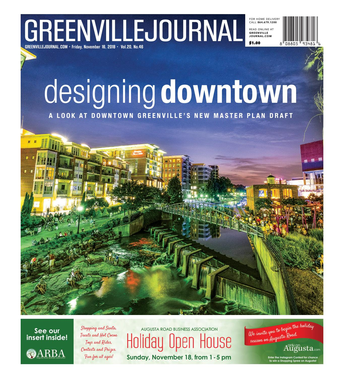 November 16, 2018 Greenville Journal by Community Journals