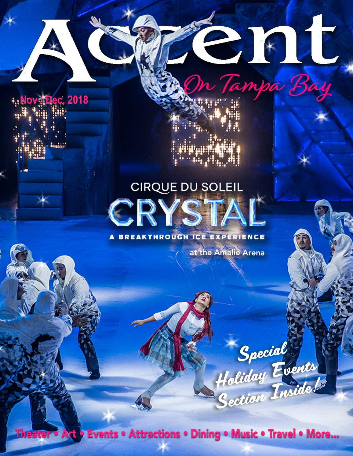 Accent On Tampa Bay #245, Nov / Dec 2018 by Accent On Tampa