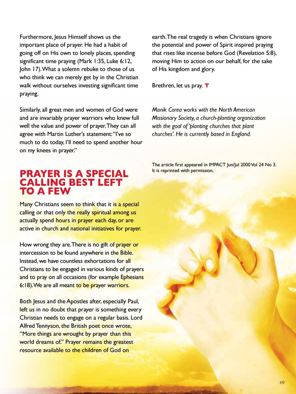 Trinitarian Magazine Issue 2/2012 by Trinity Christian