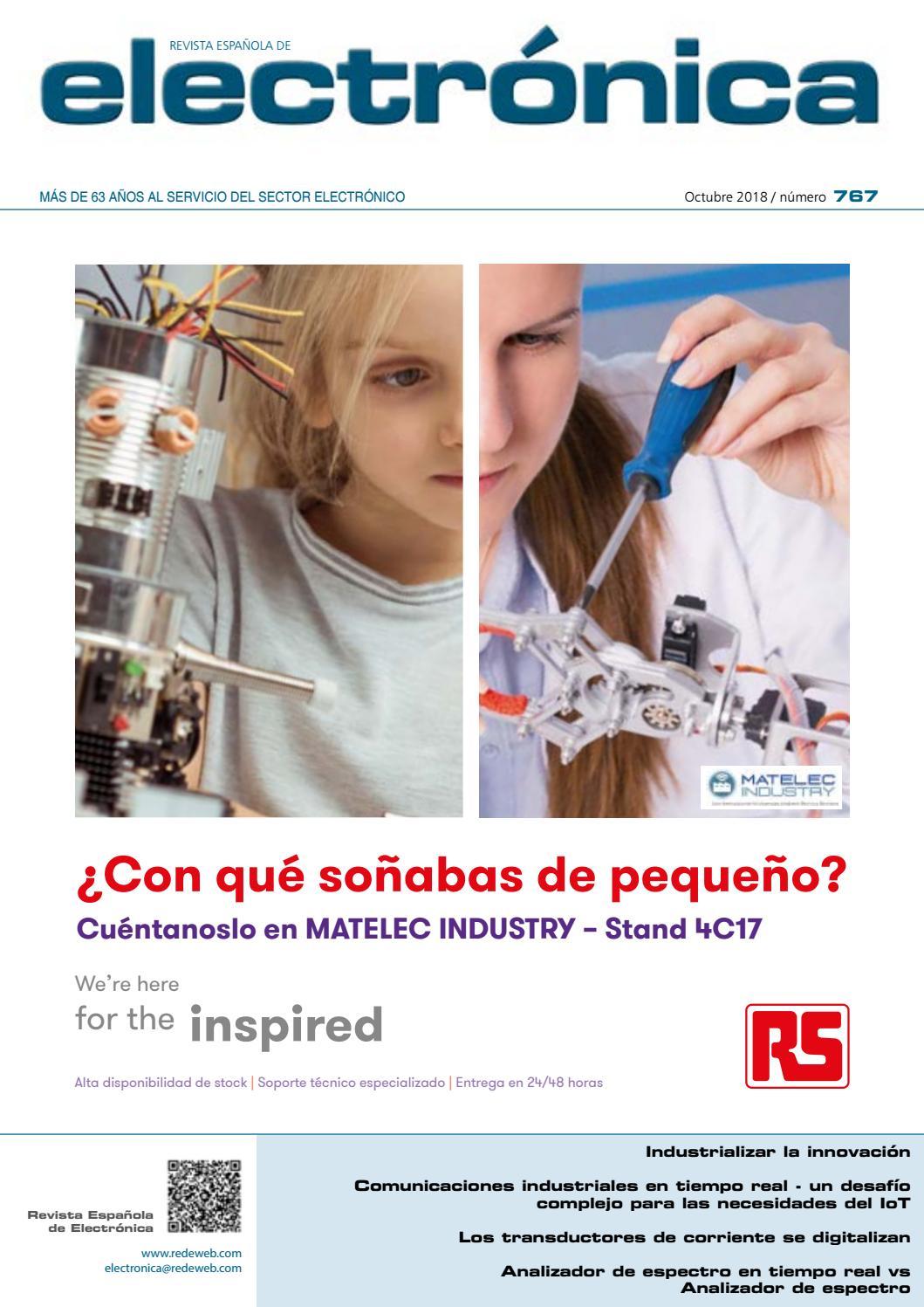 73e23e16c4 Revista Española de Electrónica - Noviembre 2018 by Monolitic - issuu