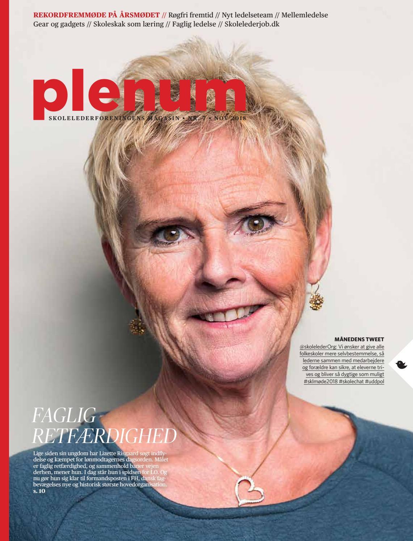 ab78d19d189 Plenum, november/december 2018 by Skolelederforeningen - issuu