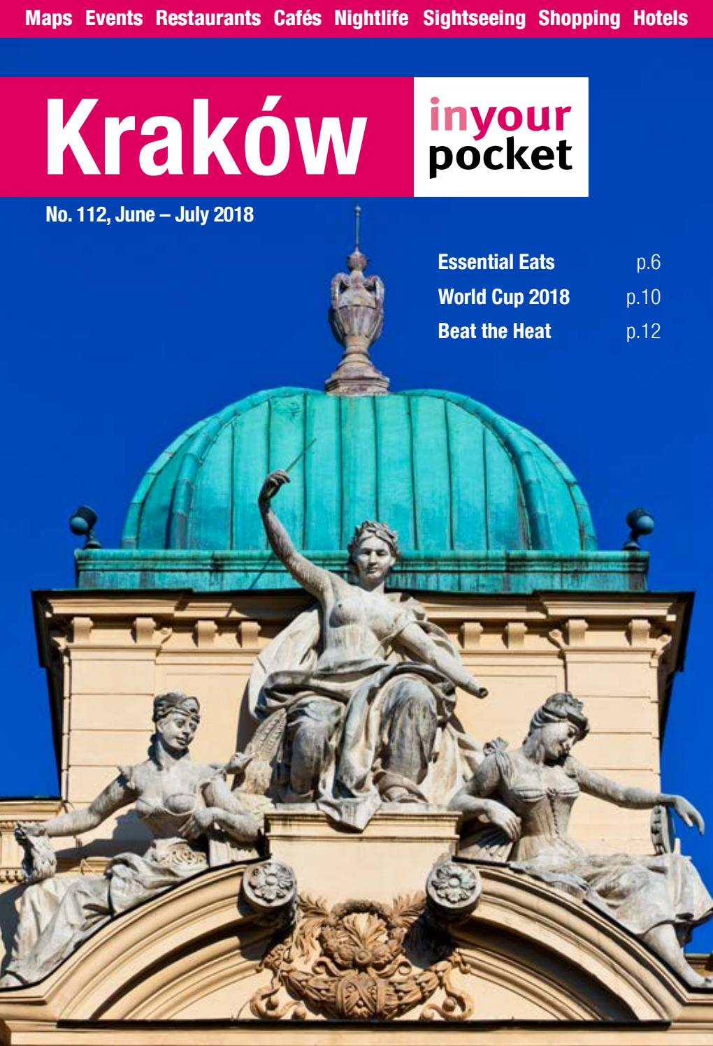 Krakow In Your Pocket June July 2018 By Poland In Your