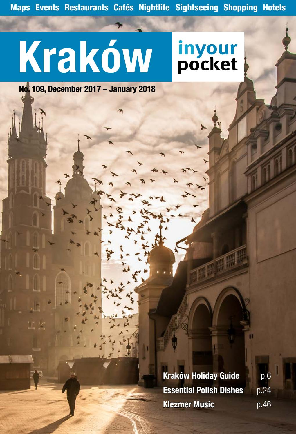 Krakow In Your Pocket December 2017 January 2018 By Poland