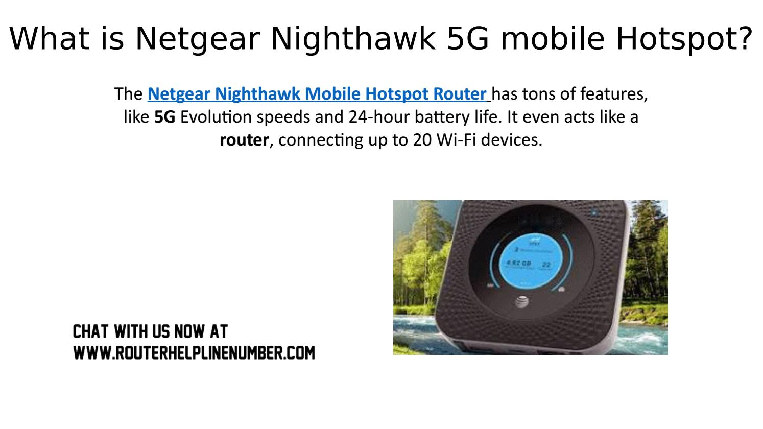 What is Netgear Nighthawk 5G mobile Hotspot? by david Hussy - issuu