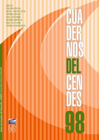 dbdf2c24894d Revista Cuadernos del CENDES N 98 by Publicaciones CENDES - issuu