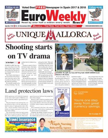 Euro Weekly News - Mallorca 15-21 November 2018 Issue 1741 by Euro