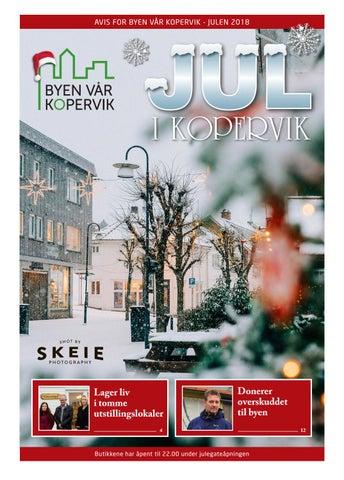 7d169309 Byen Vår Kopervik Juleavis 2018 by RGB-Design - issuu