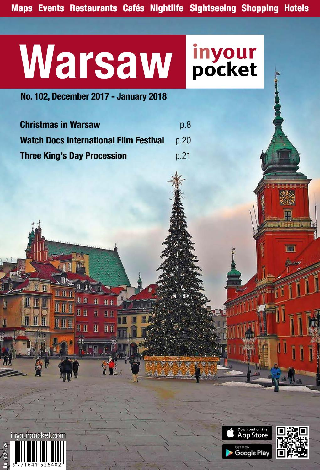 Warsaw In Your Pocket December 2017 January 2018 By