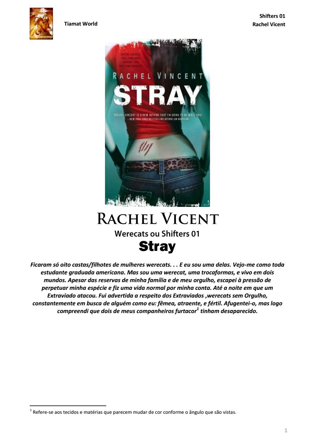 Stray - Shifters (Werecats) 01 - Rachel Vincent by Fruitpip - issuu 60fd951e9e
