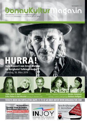 ff72e8d0788f00 Kulturmagazin Winter 2018 by MVM Donaukultur - issuu