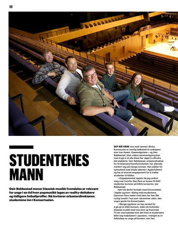 Page 30 of Studentenes mann