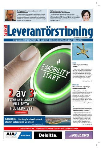 Svensk Leverantörstidning nr-6 2018 by Hexanova Media Group AB - issuu a02e4c8fc0b70