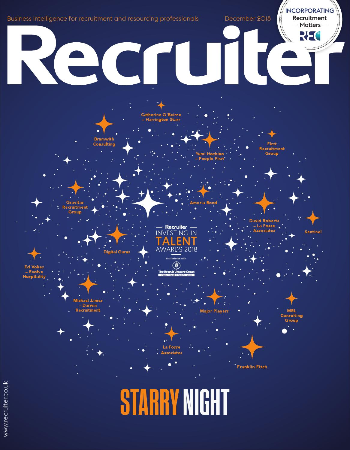 Recruiter December 2018 by Redactive Media Group - issuu