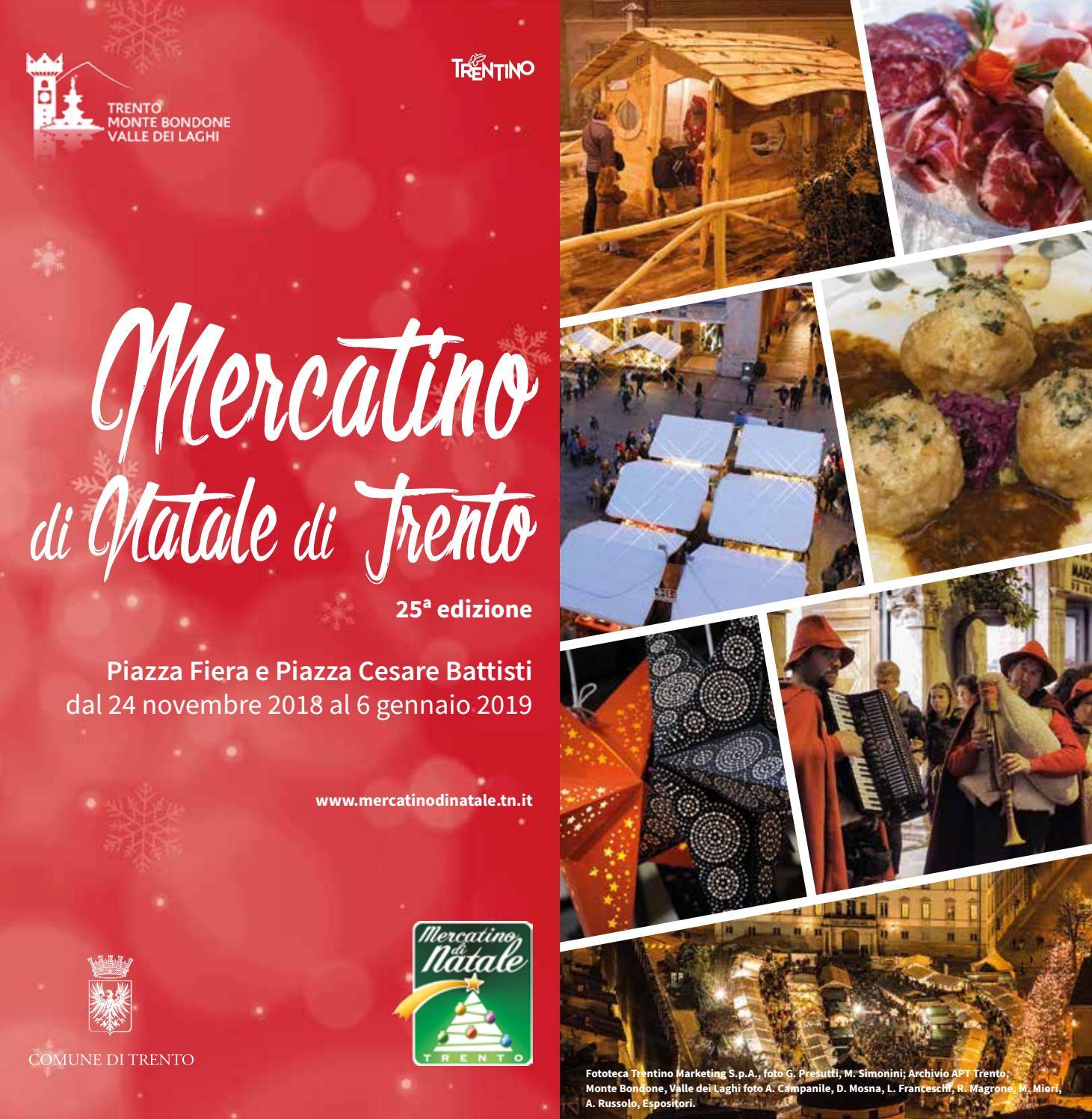 Catalogo del Mercatino di Natale di Trento 2018 by Tourist Board ...