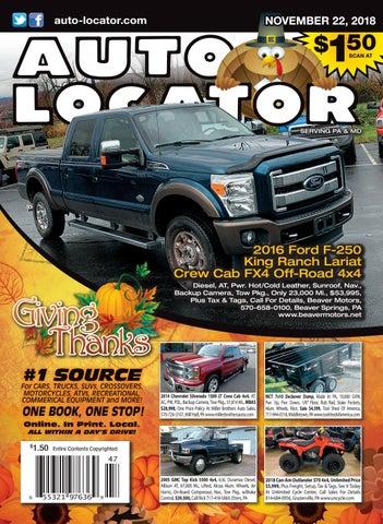 11-22-18 Auto Locator by Auto Locator and Auto Connection - issuu