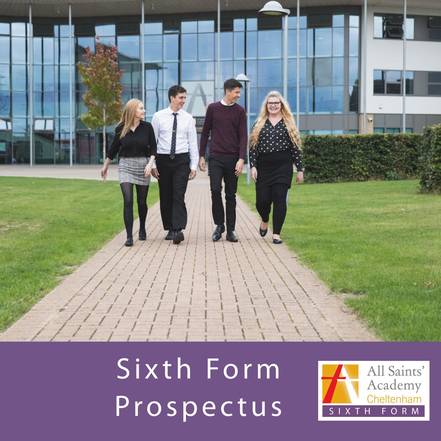 All Saints' Academy Sixth Form Prospectus 2018/19 by All