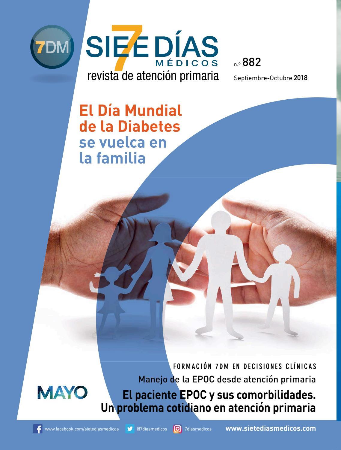 diabetes tipo 2 instrucciones de alta para la EPOC