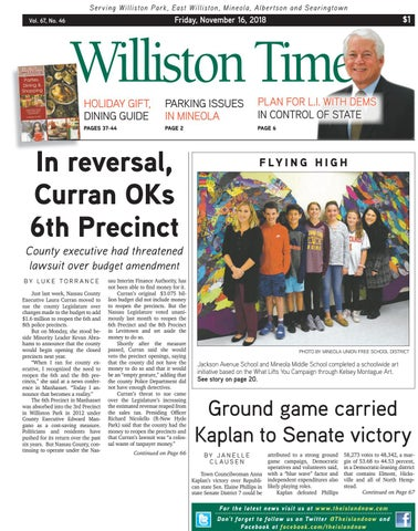 Williston Park 20181116 By The Island Now Issuu